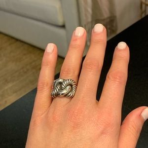 Authentic David Yurman Infinity Knot Ring | Size 5